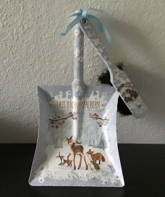 Kehrbesen Set ♥ handmade ♥️ einzigartiges Geschenk ♥️ Unikat - Waldtiere - Handarbeit kaufen