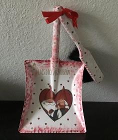 Kehrbesen Set ♥ handmade ♥️ einzigartiges Geschenk ♥️ Unikat - Wichtel - Handarbeit kaufen