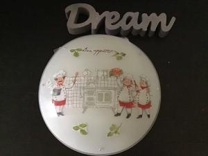 Küchenlampe ♥ Wandlampe ♥️ Einzigartig ♥️ Geschenk ♥ Vintage ♥ Unikat  - Köche - Handarbeit kaufen