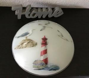 Badlampe ♥ Wandlampe ♥️ Einzigartig ♥️ Geschenk ♥ Vintage ♥ Unikat - Leuchtturm - Handarbeit kaufen