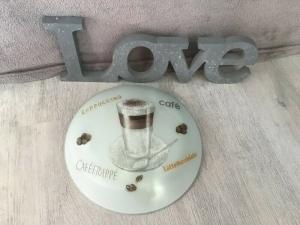 Küchenlampe ♥ Wandlampe ♥️ Einzigartig ♥️ Geschenk ♥ Vintage ♥  Unikat - Latte Macciatto - Handarbeit kaufen