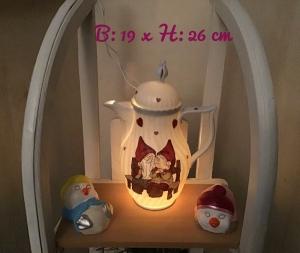 Beleuchtete Kaffeekanne  ♥ Einzigartig♥ Geschenk ♥ Vintage ♥ Unikat  -  Wichtel 2 - Handarbeit kaufen