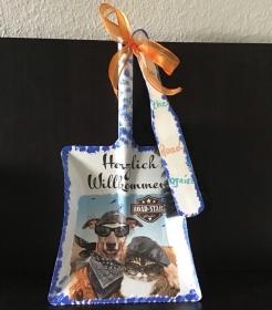 Kehrbesen Set ♥ handmade ♥️ einzigartiges Geschenk ♥️ Unikat - on the Road again  - Handarbeit kaufen