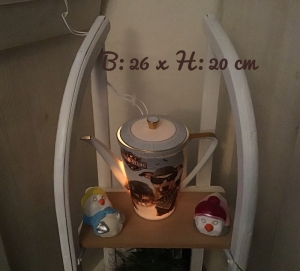 Beleuchtete Kaffeekanne  ♥ Einzigartig♥ Geschenk ♥ Vintage ♥ Unikat  -  On the Road again - Handarbeit kaufen