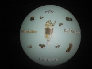 Küchenlampe ♥ Wandlampe ♥️ Einzigartig ♥️ Geschenk ♥ Vintage ♥  Unikat - Eiskaffee - Handarbeit kaufen
