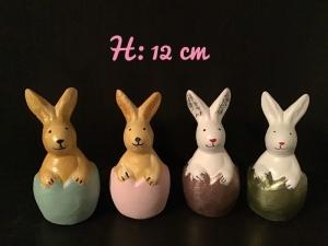 Hase im Ei ♥ Beton ♥️ Ostern ♥ Garten ❤️  Unikate - Handarbeit kaufen