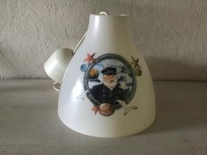 Badlampe ♥ Deckenlampe ♥️ Einzigartig ♥️ Geschenk ♥ Vintage ♥ Unikat - maritim Kapitän - Handarbeit kaufen