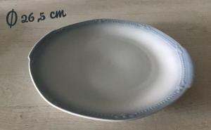 Runde Tortenplatte ♥️  Sissi blau ♥️ Porzellan  ♥️ Oma ´s Geschirr  ♥ vintage ♥ Neu - Blau - Handarbeit kaufen