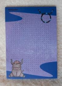 Notizblock A6 Sternzeichen Stier - Handarbeit kaufen