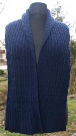 Handgestickter Schal Schultertuch Stola - Handarbeit kaufen