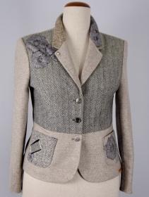 Brtischer Damen Patwork Blazer in einem ganz besonderem Modestil
