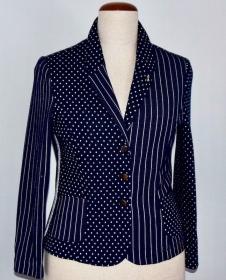 Hochwertiger Damen Blazer aus Jacguar Jersey Stoff