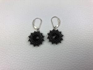 Black-Star Ohrhänger