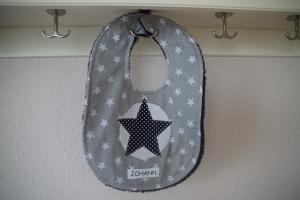 Babylatz Stern mit Name (Kopie id: 100248738) - Handarbeit kaufen