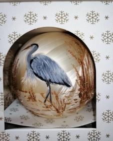 XL Weihnachtskugel, Weihnachten, Weihnachtsdeko, Weihnachtsgeschenk, personalisiert, handbemalte Glaskugeln, Weihnachtsschmuck,  Geschenk für IHN - Handarbeit kaufen