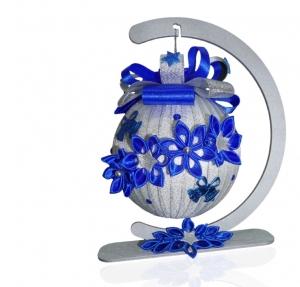 XXXL Weihnachtskugel 16 CM, Weihnachten, Weihnachtsdeko, Weihnachtsgeschenk, personalisiert, Weihnachtsschmuck, 16 CM - sehr groß!!! - Handarbeit kaufen