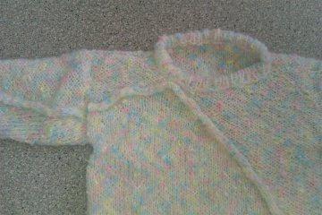 Winterlicher Pullover für Mädchen