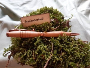 Rotdorn - Kugelschreiber, handgedrechselt, Unikat