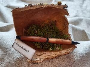 Apfelholz - Druckbleistift, handgedrechselt, Unikat