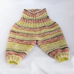 Babyhose Strickhose Gr.62 handgestrickt - Handarbeit kaufen