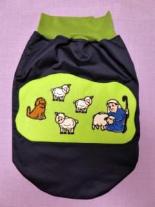 Strampel-, Schlaf-, Pucksack Schafherde für Babys