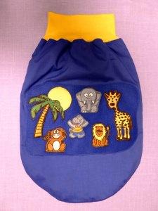 Strampel-, Schlaf-, Pucksack Safari für Babys