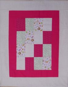 Zwei*in*Eins - Decke und Kissen zugleich - Modell Klara