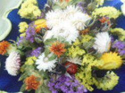 Luxuriöser Trockenblumenstrauß, 25cm