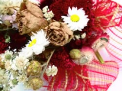 Trockenblumenstrauß, 30cm