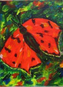 Schmetterling, 24x18cm