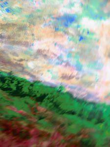 Wings over fields, 30x40cm