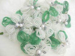 Hochzeitsdeko in weiß, 30cm