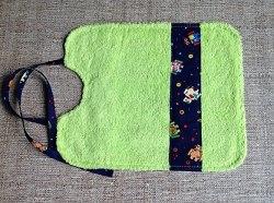Kinderlätzchen mit wasserdichter, rausnehmbarer Wäscheschutzeinlage