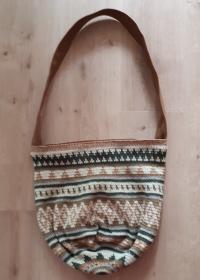 handgehäkelte Baumwolltasche im BOHO - Stil - Handarbeit kaufen