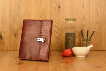 Geheimes Tagebuch - Abschließbar - Leder Notizbuch
