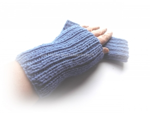 Pulswärmer, Pulswärmer gestrickt, Armstulpen gestrickt, Handwärmer Wolle - Handarbeit kaufen