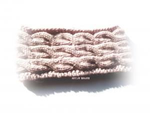 Stirnband, Stirnband für Damen, Stirnband gestrickt, Kopfwärmer handgestrickt  - Handarbeit kaufen