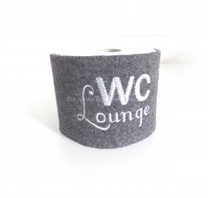 Klorollenverstecker, Klopapierbanderole, WC Lounge - Handarbeit kaufen
