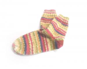 Socken Gr. 38/39, Socken gestrickt, Socken mit Bummerangferse - Handarbeit kaufen