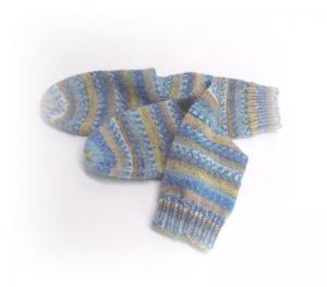 Socken Größe 35/36, Kindersocken gestrickt - Handarbeit kaufen