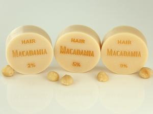 ♥ Macadamianussöl-Seife HAIR ohne Duft ♥ 1 Stück: 95g ♥ Vegane Haarseife, Shampooseife mit Bio-Ölen von SEIFEN-EHLERT ♥