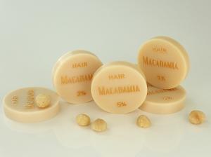 ♥ Macadamianussöl-Seife HAIR ohne Duft ♥ 1 Stück: 45g ♥ Vegane Haarseife, Shampooseife mit Bio-Ölen von SEIFEN-EHLERT ♥