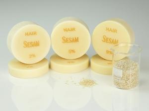 ♥ Sesamöl-Seife HAIR mit ätherischem Öl ♥ 1 Stück: 95g ♥ Vegane Haarseife, Shampooseife mit Bio-Ölen von SEIFEN-EHLERT ♥
