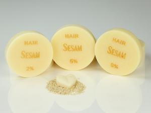 ♥ Sesamöl-Seife HAIR ohne Duft ♥ 1 Stück: 45g ♥ Vegane Haarseife, Shampooseife mit Bio-Ölen von SEIFEN-EHLERT ♥