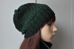 Übergangsmütze aus reiner Wolle für Damen Farbverlauf handmade handgestrickt neu Strickmütze Mütze Wollmütze - Handarbeit kaufen