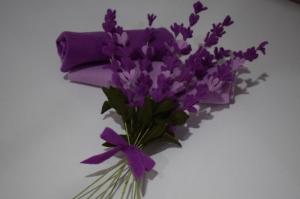 Handgemachte immergrünen Lavendel Blume.Filz Lavendel Bouquet.Perfekte Geschenk für einen besonderen Menschen!