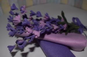 Handgemachte immergrünen Lavendel Blümen.Filz Lavendel Bouquet.Perfekte Geschenk für einen besonderen Menschen!