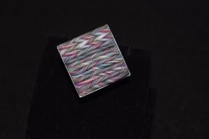 Handgemachter Schmuckstück aus Polymer Clay.Wunderschöner Ring mit Edelstahl Basis.Perfekte Geschenk für einen besonderen Menschen!