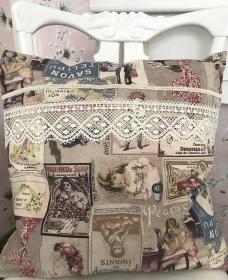 Kissen Vintage - Handarbeit kaufen