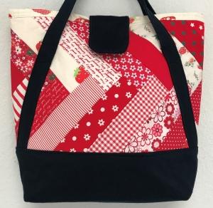 Shopper Einkaufstasche Sommertasche Markttasche Tragetasche - Handarbeit kaufen